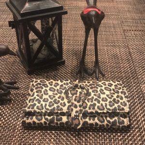 Travel Jewelry Case leopard Print